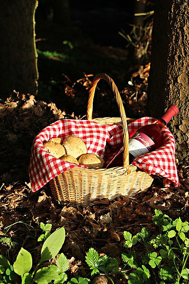 The Wine Gift Basket Could Also Contain Other Accessories